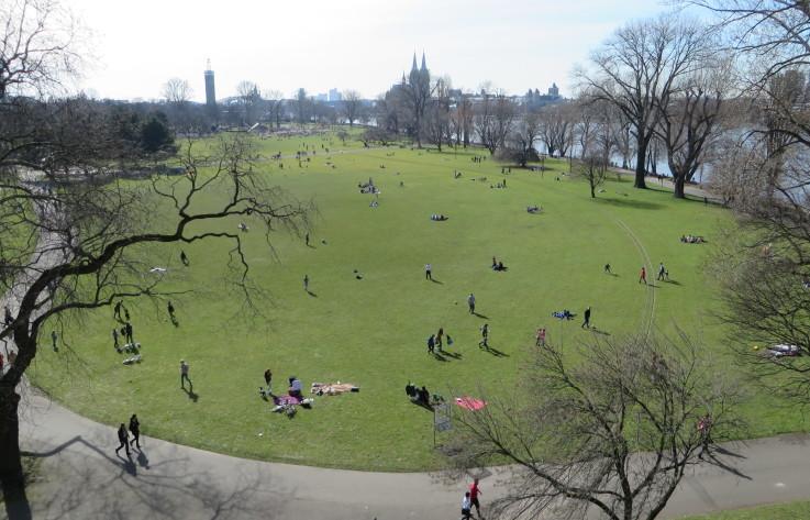 Grünanlagen & Friedhöfe » Rheinpark