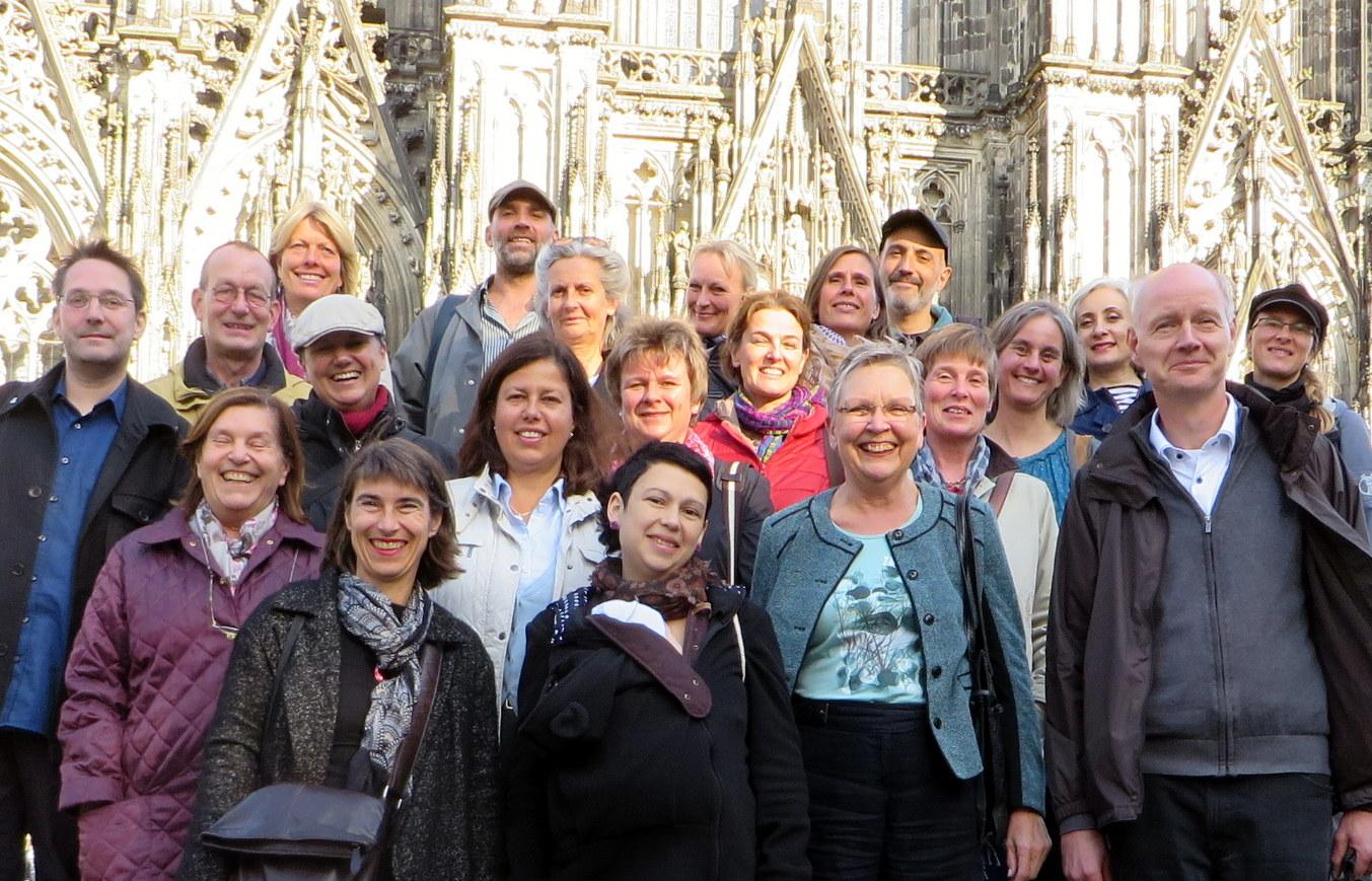 Einige unserer Mitglieder im September 2015